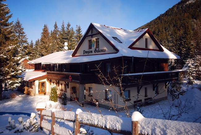 Obóz snowboardowy Chopok - pensjonat Galanto