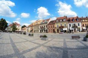 Kazimierz Dolny, Sandomierz
