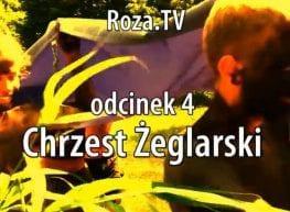 Chrzest Żeglarski - kolejny odcinek Roza.TV