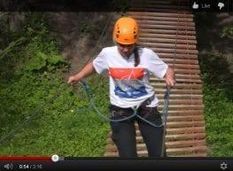 RozaTV - Liny. Wielki generator adrenaliny w parku linowym