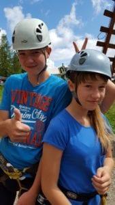 Mission Impossible - 8 - 16+ lat obóz i kolonia w Białce Tatrzańskiej park Linowy