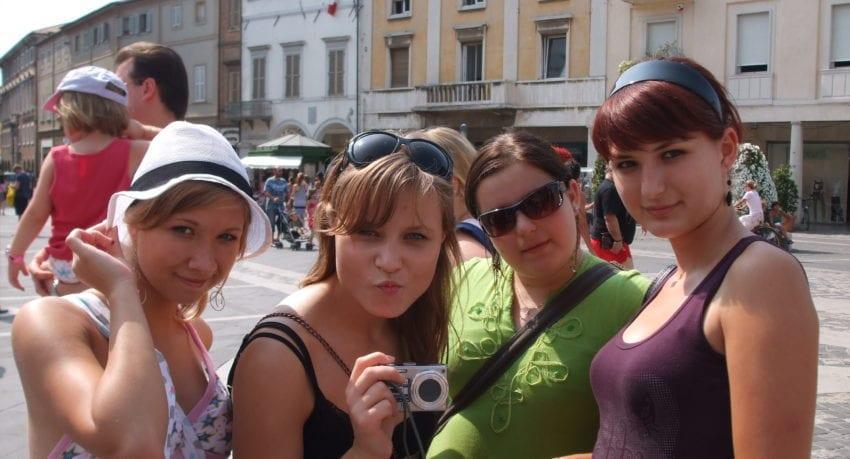 Zwiedzanie historycznego centrum - obóz młodzieżowy w Rimini