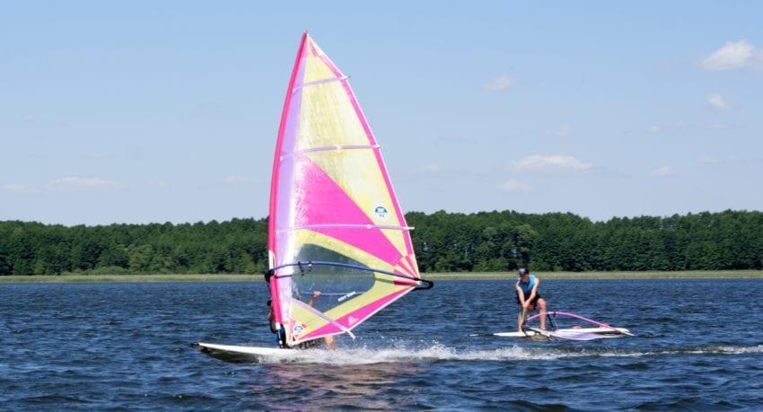 Windsurfing Mazury 11 - 18 lat