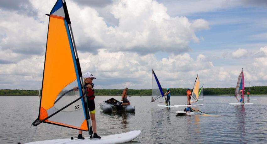 Windsurfing Mazury 11 - 19 lat - certyfikaty/patenty