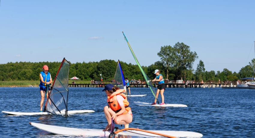 Windsurfing - obóz w Piszu 11 - 19 lat