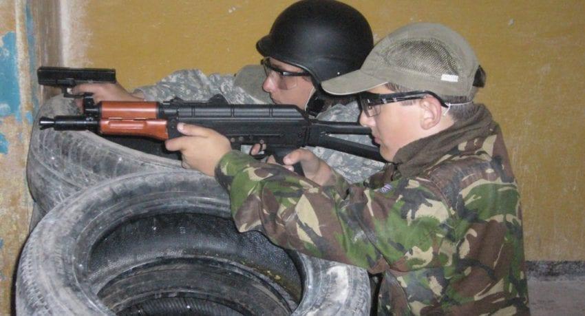 obóz militarny uczestnicy