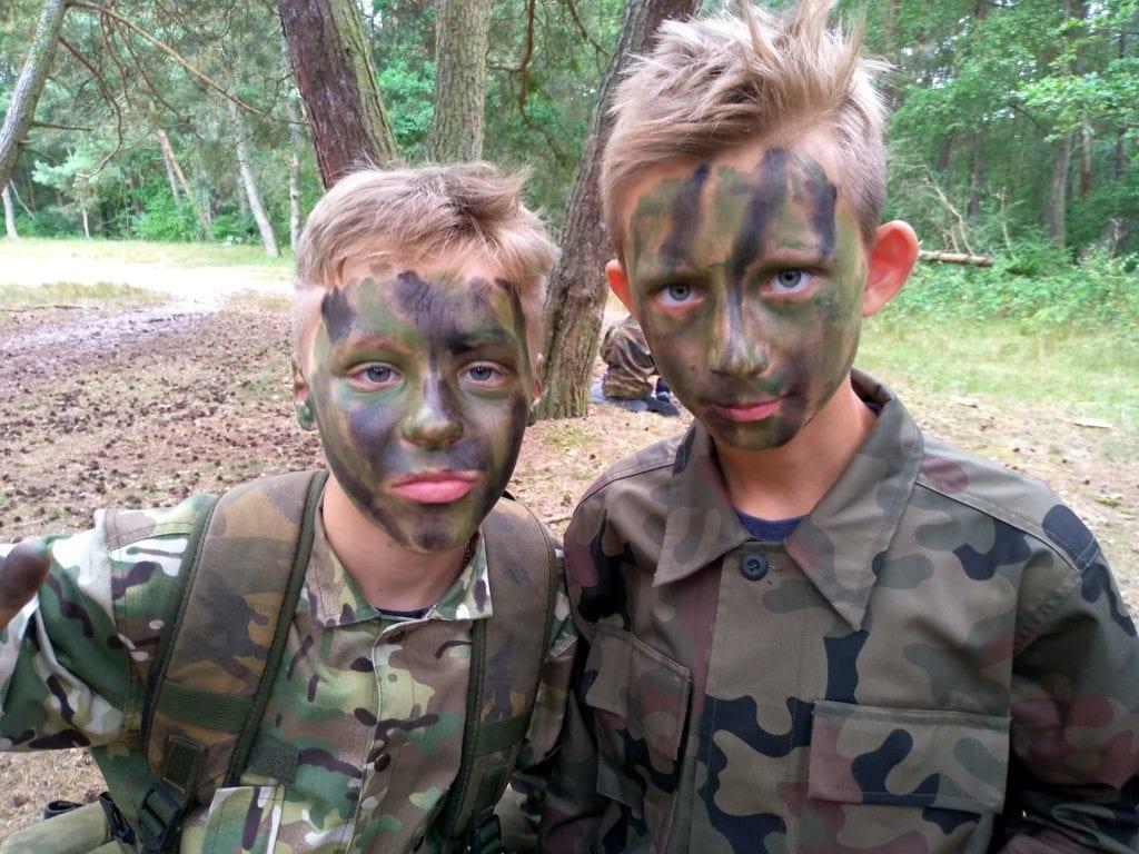 Młody komandos – Obóz militarny dla najmłodszych 2019
