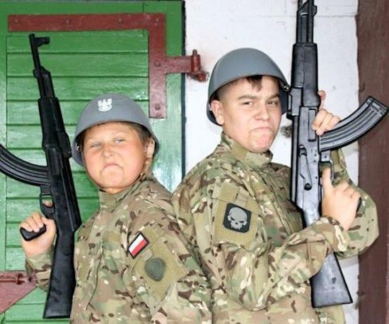 obóz militarny ASG repliki