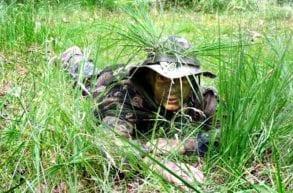 obóz militarny zajęcia w terenie