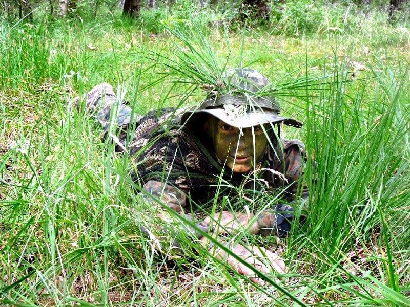 Za linią wroga - obóz militarny ASG 2019
