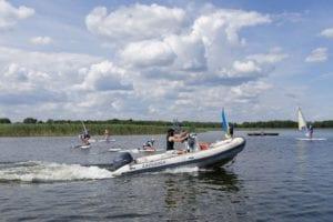 Obóz windsurfingowy - kurs motorowodny