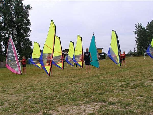 Obóz windsurfingowy - Pisz