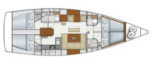 Hanse 445 jacht