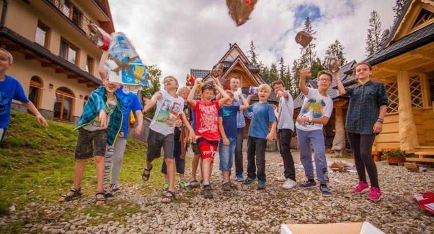 Obóz małego Einsteina Małe Ciche 2019 - 9 - 14 lat
