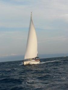 Trasa rejsów w Chorwacji - jacht