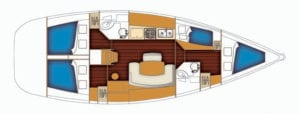 Rejs w Chorwacji 2019 - jacht Cyclades 43.4