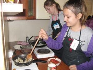 Mali mistrzowie kuchni, własne przepisy, gotowanie, Małe Ciche