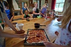Mali mistrzowie kuchni, Małe Ciche uczestnicy 10 - 15 lat gotują