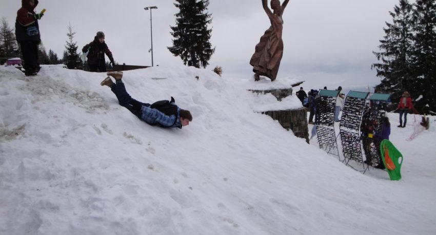Obóz narciarski zajęcia
