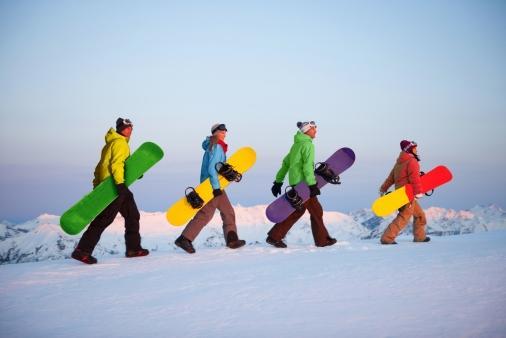 Austria obóz snowboardowy