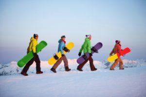 Ski&Snowboard Camp na stoku