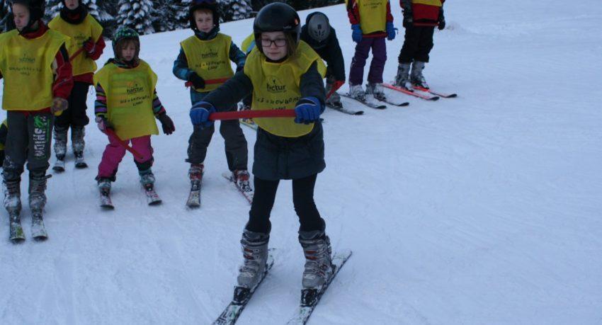 Obóz zimowy narty