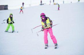 Zimowisko narciarskie Małe Ciche na stoku