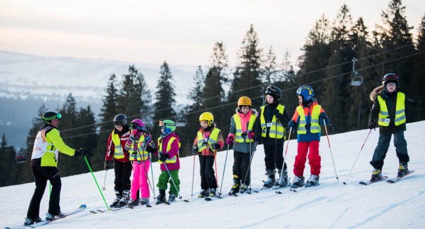 Zimowisko narciarskie Małe Ciche 8-12 lat