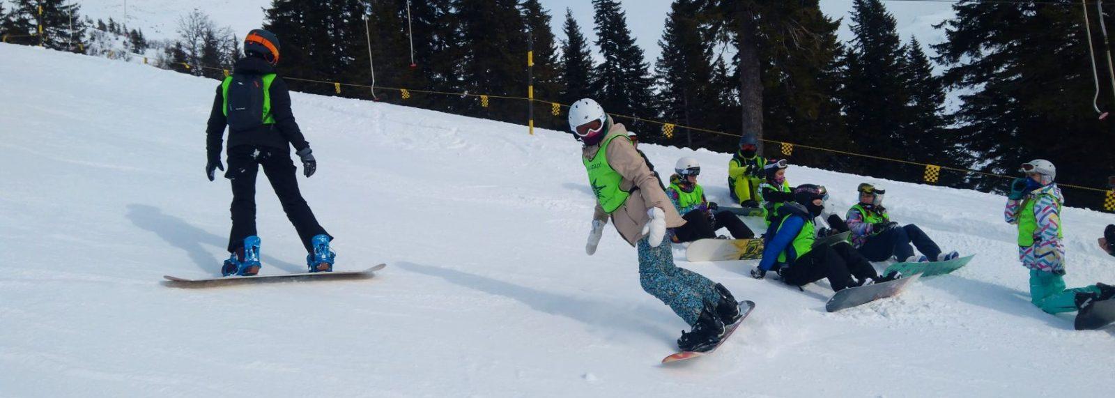 Obóz Snowboardowy na Kubińskiej Holi 2020<br><span style=