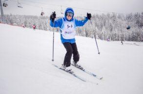 Zimowisko narciarskie na stoku