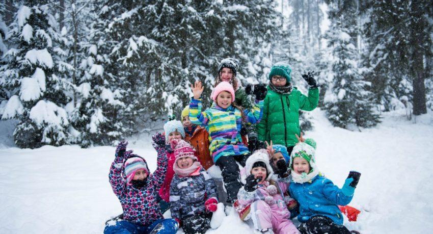 Zimowisko dzieci