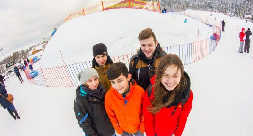 Zimowisko Poszukiwaczy Przygód uczestnicy