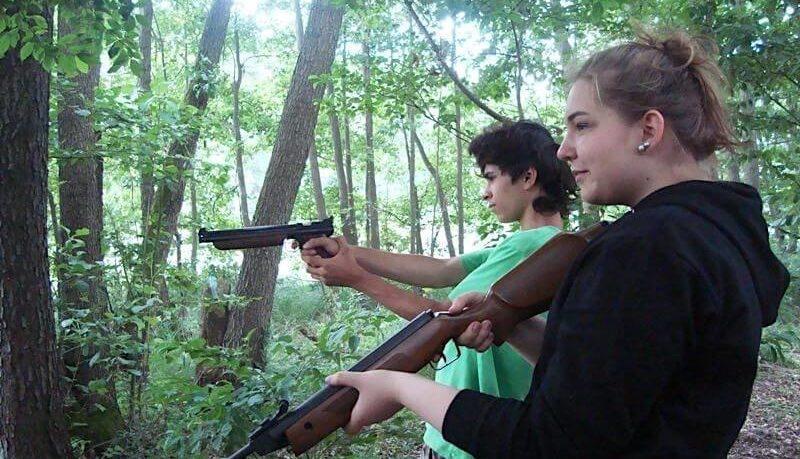 obóz-survivalowy- strzelanie