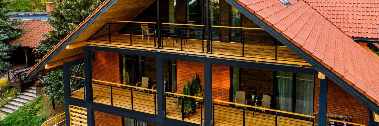 Nowy budynek hotelowy - zapraszamy na rodzinny wypoczynek